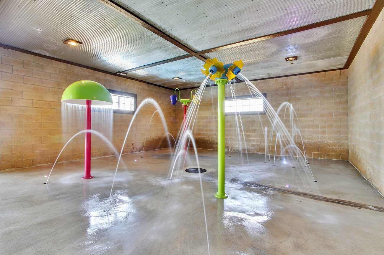 Indoor Kids splash pad